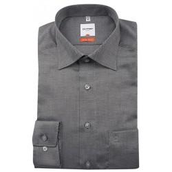 Košeľa Olymp Luxor Modern Fit (Slim Line) Čierna / Bodkový vzor