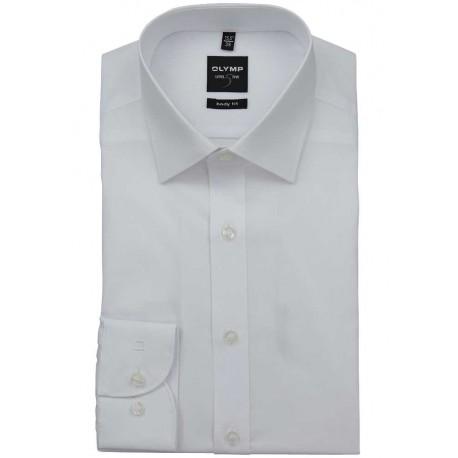 OLYMP New York Kent Body Fit Stretch košeľa Uni biela