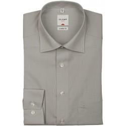 Košeľa Olymp New Kent Comfort Fit Chambray šedá s dlhým rukávom