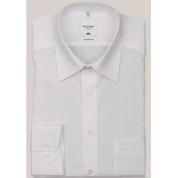Košeľa Olymp Kent Regular Fit Uni biela s dlhým rukávom