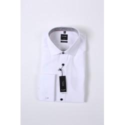 Košela Olymp Luxor Modern Fit Non - iron, biela, 100% bavlna