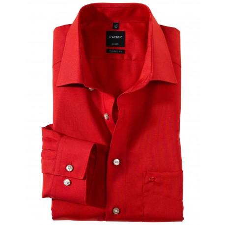 Košeľa Olymp Luxor Modern Fit, červená