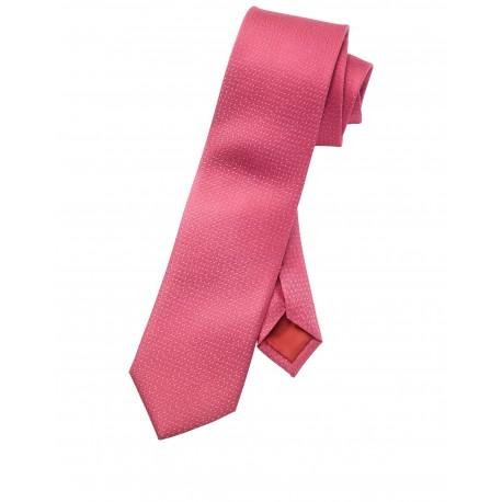 Kravata Olymp, ružová bodkovaná