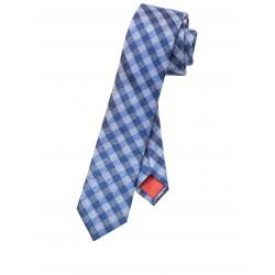 Kravata Olymp, modrá vzorkovaná