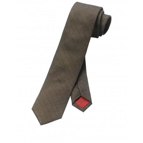 Kravata Olymp, hnedá