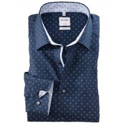 Košeľa OLYMP Luxor, comfort fit, New Kent, Marine