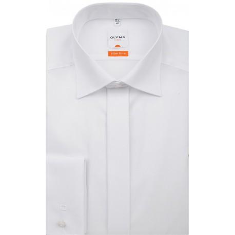 Košeľa Olymp Luxor Modern Fit (Slim Line) Biela - New-Kent